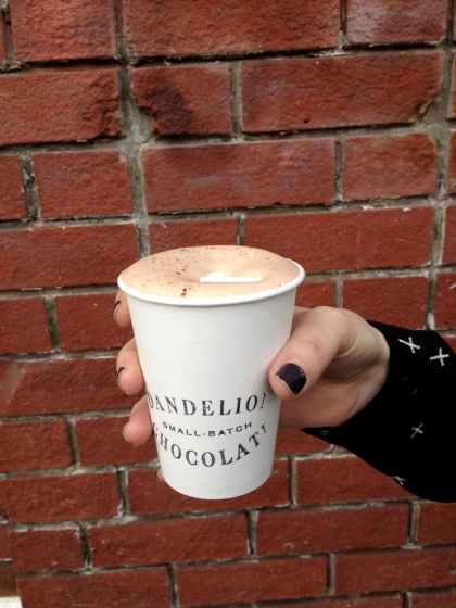Mission hot chocolate
