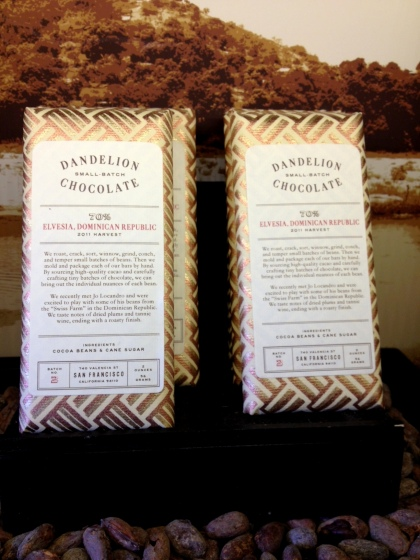 Dandelion chocolate bar
